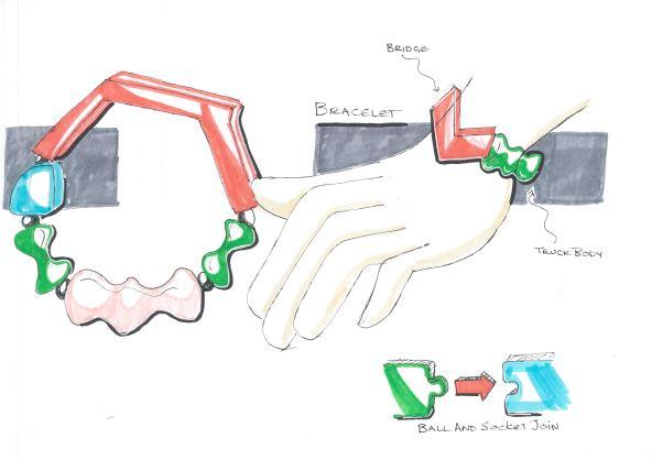 sketches braclet