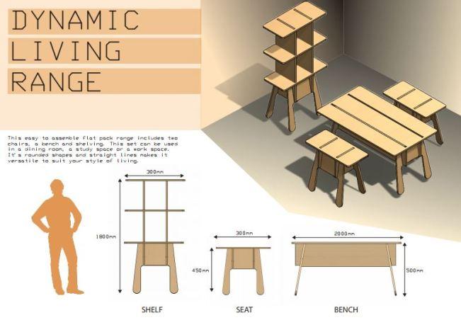 flat pack furniture. Travisbrewsterdesign Flat Pack Furniture Range. I Made Full Scale Cardboard Models, Laser Cut Miniatures, 3d Sketched In Solidworks CAD, Before Lastly